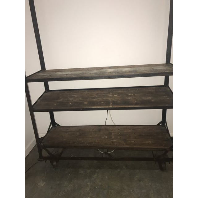 Antique Industrial Cobblers Shoe Rack Shelving Unit - Image 3 of 11