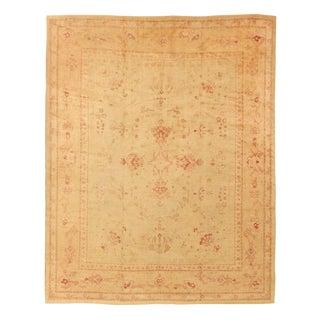"Antique Anatolian Oushak Carpet - 16'2"" x 13'1"""