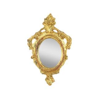 Petite Gilded Florentine Mirror