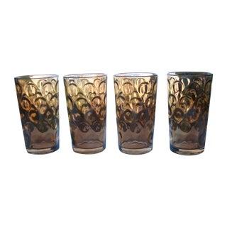 Mid-Century Hollywood Regency High Ball Glasses
