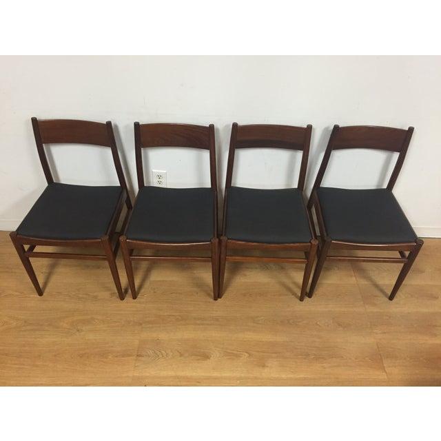 Italian Mahogany Dining Chairs - Set of 4 - Image 3 of 11