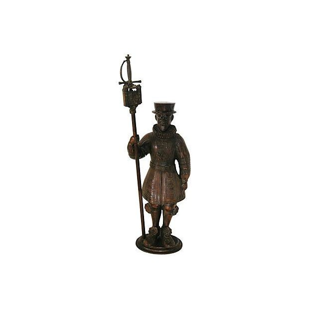 Image of Tower of London Beefeater Fireplace Set - S/3