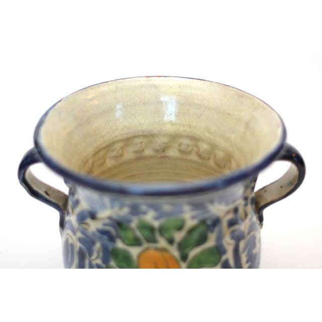 Image of Vintage Mexican Ceramic Urn