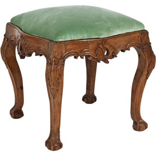 Venetian Walnut Stool
