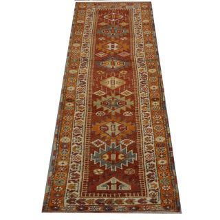 Vintage Turkish Oushak Rug - 2′9″ × 10′8″