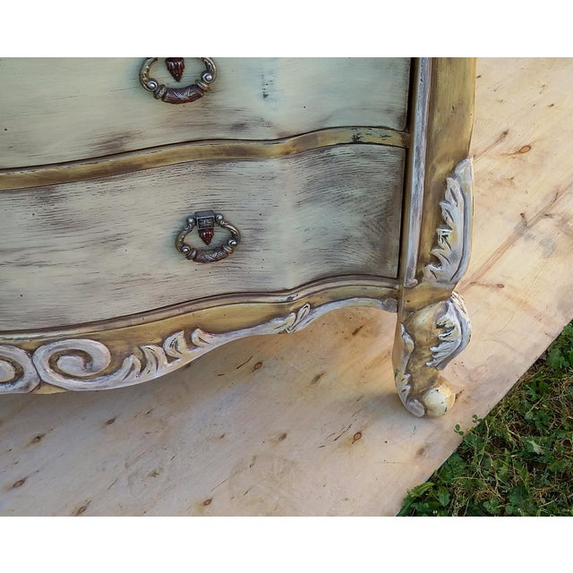 Hand Painted Harlequin French Dresser - Image 7 of 9