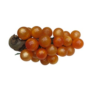 Orange Lucite Grapes