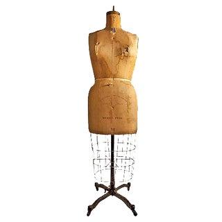 Vintage Rolling Dress Form 1956