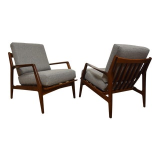 Kofod Larsen for Selig Lounge Chairs - A Pair