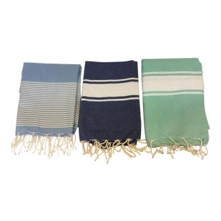 Tunisian Fouta Towels - Set of 3