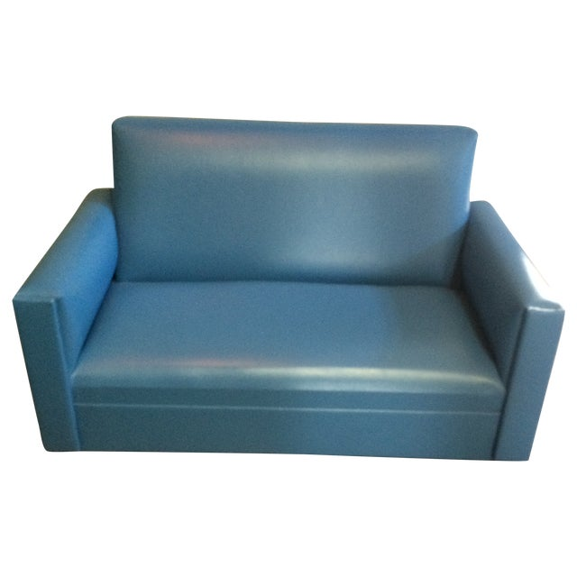 Mid-Century Mini Love Seat - Image 1 of 5
