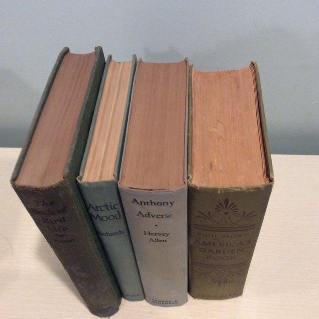 Vintage Green Book Stack - Set of 4 - Image 3 of 11