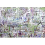 Image of Purple Abstract Painting by Barbara Winkler