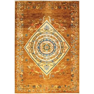 "Ziegler Hand Knotted Area Rug - 6' 1"" X 8' 10"""