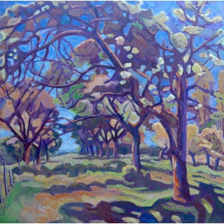 Forest Near Paris Painting