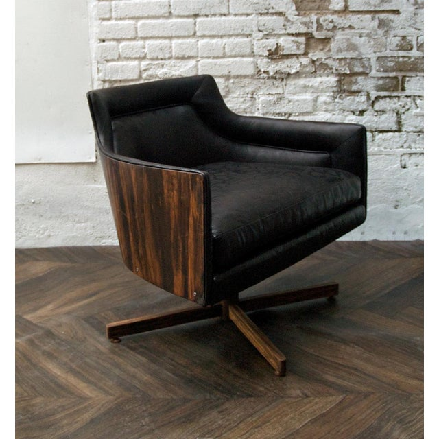 Gucci-Style Swivel Chair - Image 3 of 9