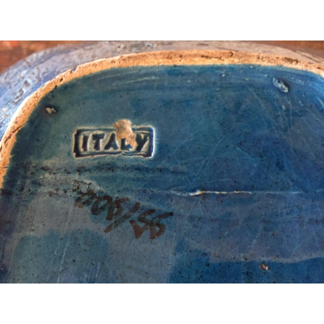 Bitossi Blue Bowl From Italy - Image 6 of 9