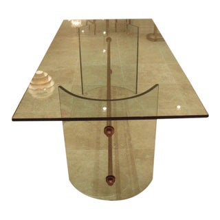 An All Crystal Dining Table by Pietro Chiesa for Fontana Arte, Italy circa 1946