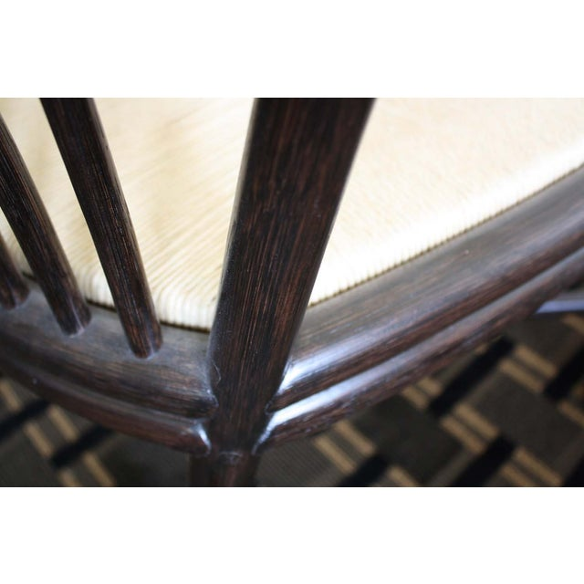 McGuire Ulloa Dining Chair in Dark Tobacco - Image 6 of 6