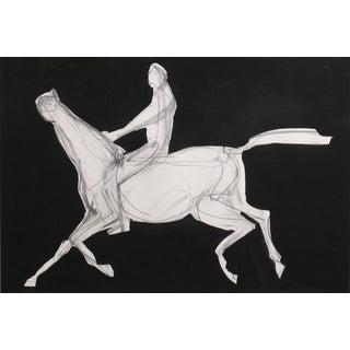 Homage to Degas III Painting by Heidi Lanino