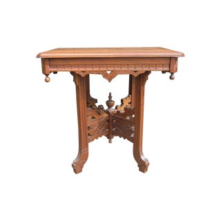 Eastlake Antique 1890 Parlor Table
