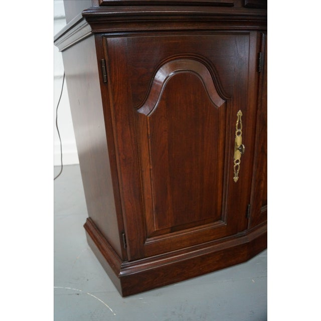 Pennsylvania House Solid Cherry China Cabinet - Image 9 of 10