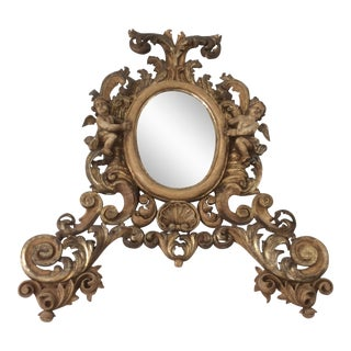 Antique Gilt Rococo Mirror