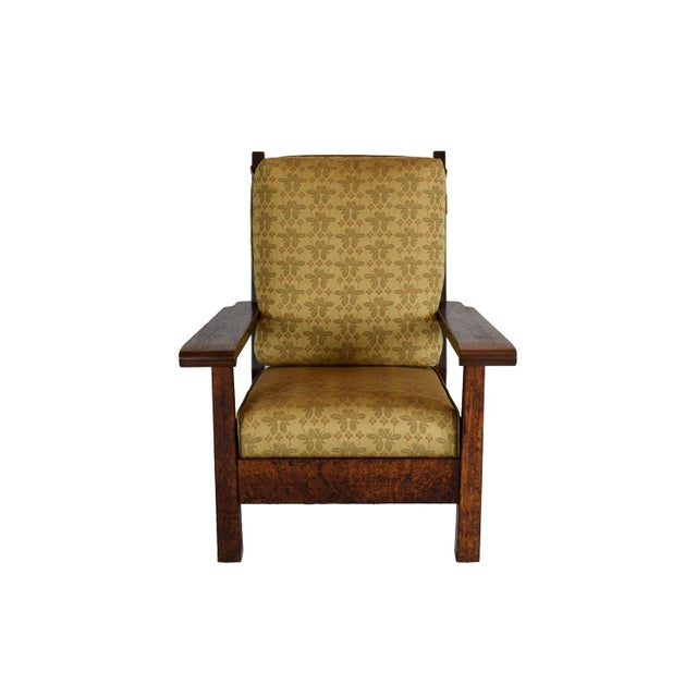 1903 Stickley Brothers Oak Armchair - Image 2 of 4