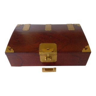 Asian Rosewood Box