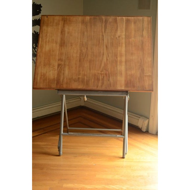 Image of 1950's L Sautereau Unic French Drafting Table