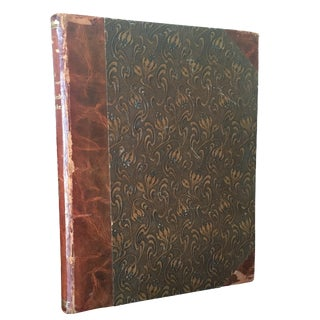 Antique Leather Book: Christen Kobke by Emil Hannover