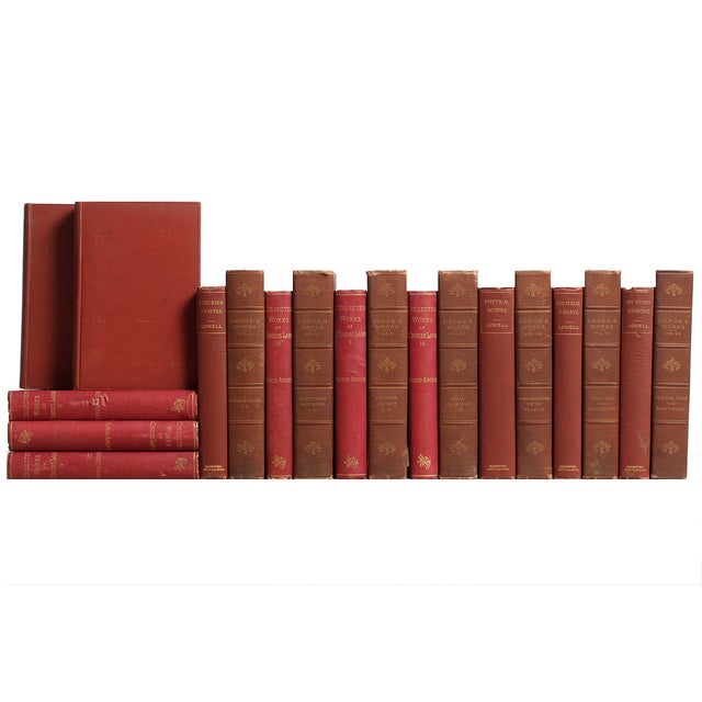 Image of Victorian Marsala Classic Books - S/19