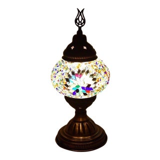 Turkish Handmade Mosaic Glass Lamp