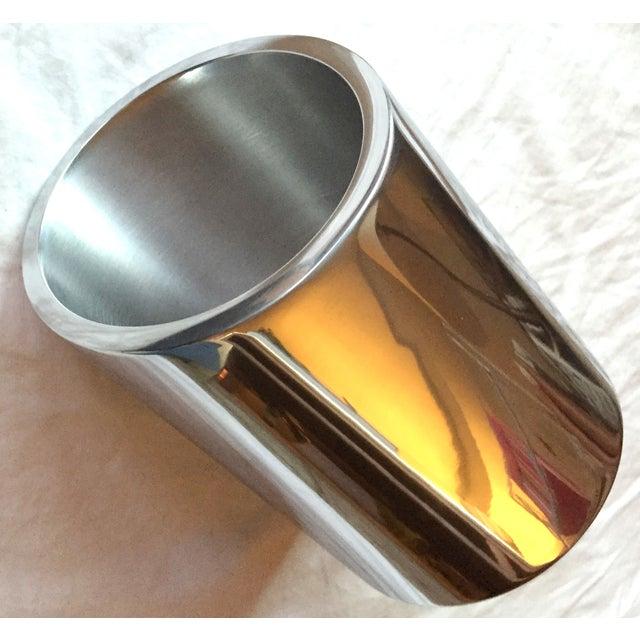 Silver Tilted Wine Chiller - Image 4 of 5