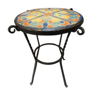 D & M Round Tile Table