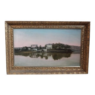 Temple of Philae, Egypt Oil Painting