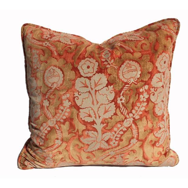 Designer Damask Velvet Pillows - Image 3 of 6