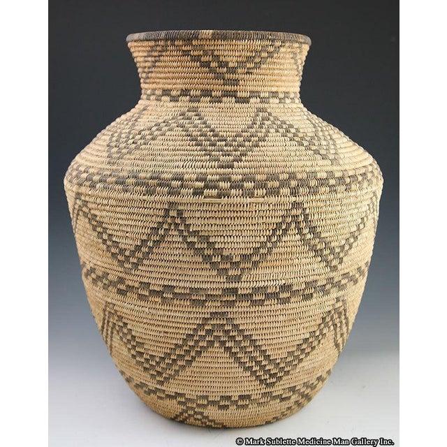 Apache Basketry Olla, circa 1890 - Image 3 of 7