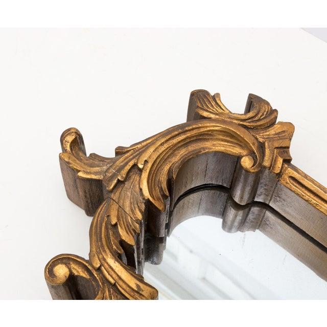 Large 1920s Ornate Giltwood Mirror Wall Niche Shelf - Image 7 of 11