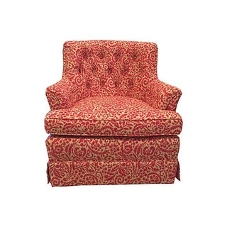 Woodmark Originals Tufted Swivel Club Chair