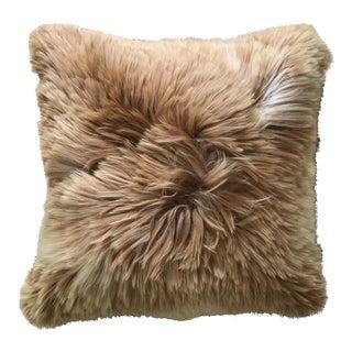"""Peruvian 100% Suri Alpaca Fur Pillow - 20"""" x 20"""""""