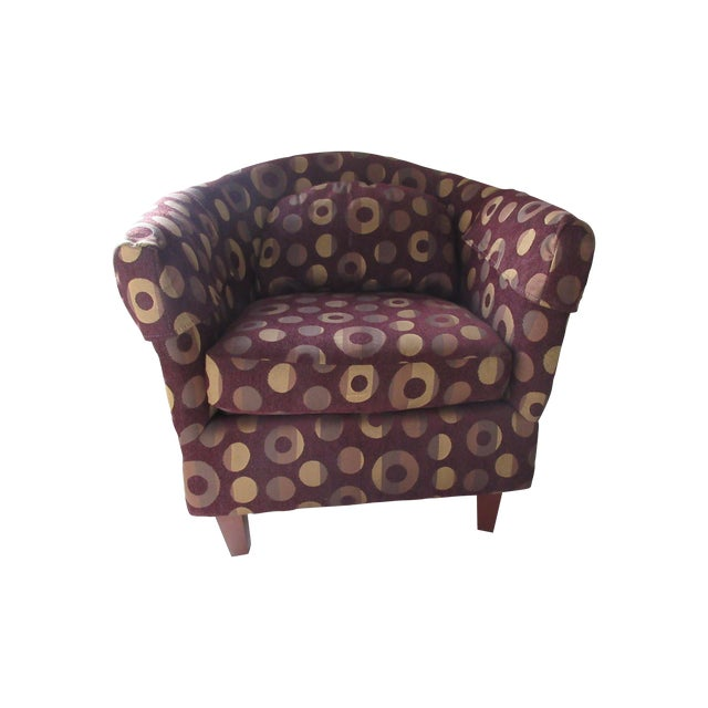 Contemporary Club Chair - Image 1 of 10