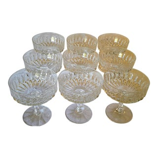 Celebrate With Althea Crystal Cut Champagne/Tall Sherbert Glasses