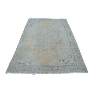 """Handmade Floor Oushak Carpet - 65"""" x 103"""""""
