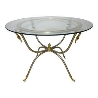 Italian Hollywood Regency Cocktail Table