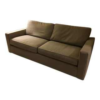 York Cement Gray Sofa