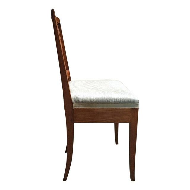 Vintage Diminutive Hepplewhite-Style Chairs - Pair - Image 4 of 6