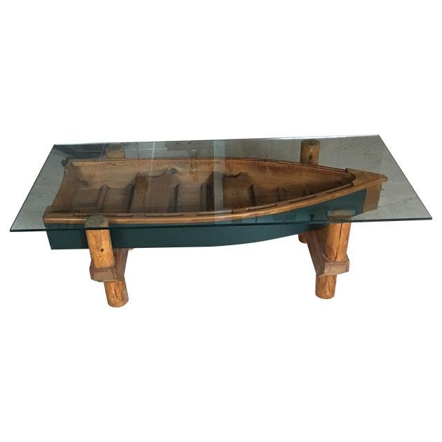 Row Boat Coffee Table Chairish