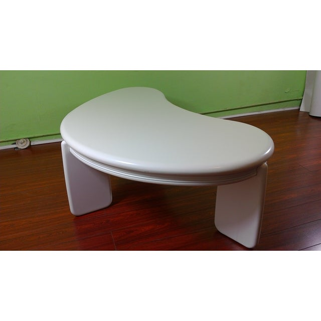 Kidney Shaped Coffee Table - Image 8 of 11