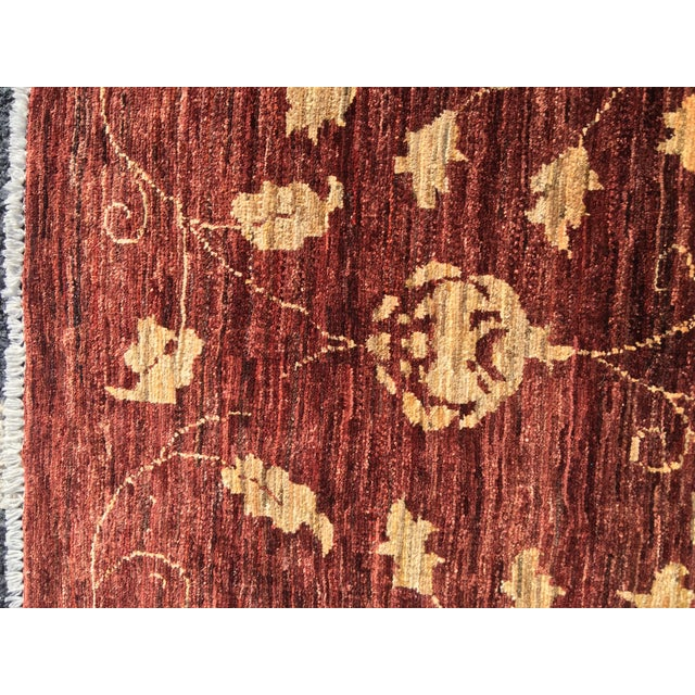 "Image of Brand New Very Soft Turkish Oushak Rug - 5'5"" x 6'"